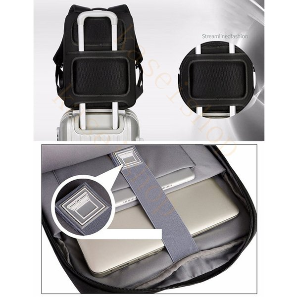 swisswin リュック ビジネスバッグ メンズ ビジネスリュックサック レディース 大容量 防水 登山 通学 旅行 通勤用 多機能 軽量 大きめ|kaseishop|12