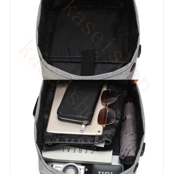 swisswin リュック ビジネスバッグ メンズ ビジネスリュックサック レディース 大容量 防水 登山 通学 旅行 通勤用 多機能 軽量 大きめ kaseishop 12