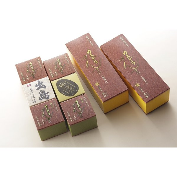 カステラざんまい(3箱) 9種類の味から3箱お選びいただけます! kashuen-moricho 10