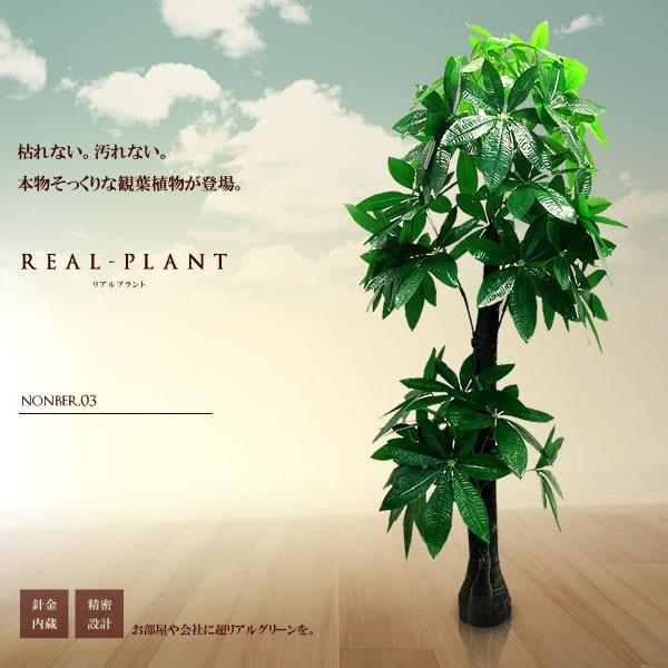 RoomClip商品情報 - 観葉植物 造花 リアルプラント03 大型 人工 部屋 リアル 会社 緑 おしゃれ インテリア フェイクグリーン KZ-FC-E3-170  予約