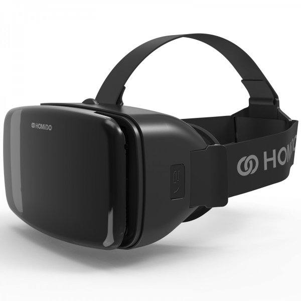 VRゴーグル 正規店販売 HOMiDO V2 ワンランク上のヘッドセット 超広角レンズ  3D iPhone android 4-6インチ対応 景品 ギフト プレゼント|kasoumegane|02