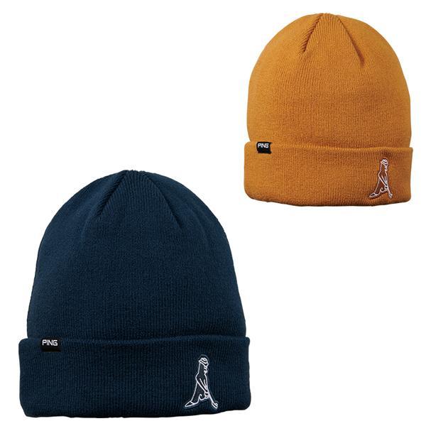 PINGピンゴルフ帽子ニットキャップ