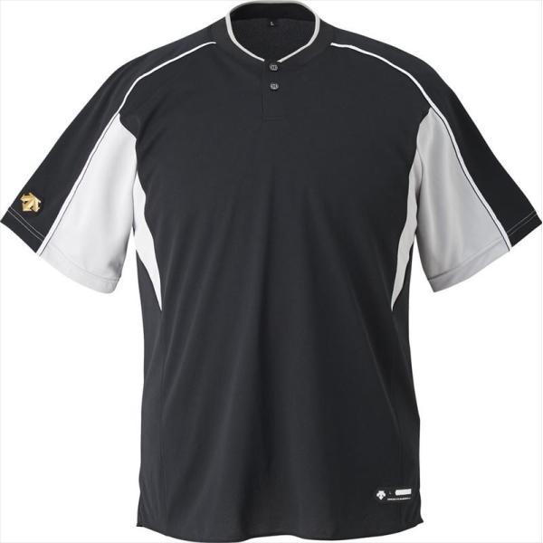 デサント(DESCENTE) 【男女兼用 野球・ソフトボール用ウェア】 2ボタンベースボールシャツ