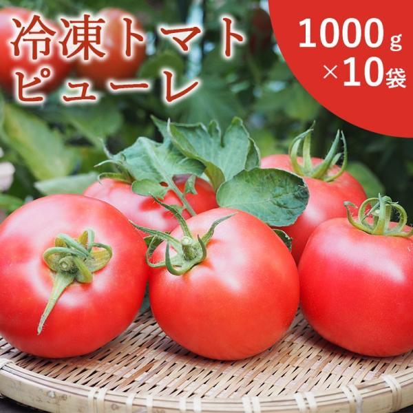 冷凍トマトピューレ1000g10袋 kasyu