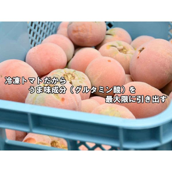 丸ごと冷凍トマト1000g(袋)10袋|kasyu|02