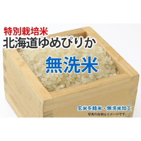 高度クリーン米・北海道ゆめぴりか【玄米1kgを精米・無洗米加工】