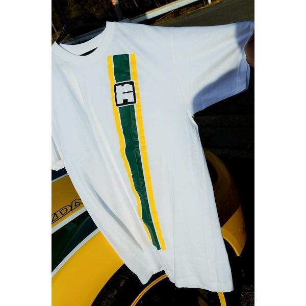 カタヤマレーシングTシャツ 白 L|katayamaracing