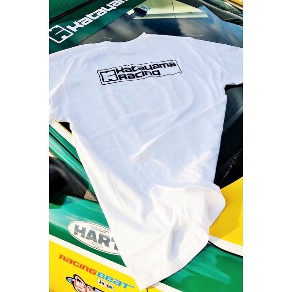 カタヤマレーシングTシャツ 白 L|katayamaracing|02