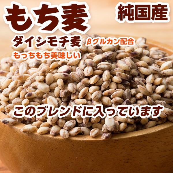米 雑穀 麦 国産 麦5種ブレンド(丸麦/押麦/はだか麦/もち麦/はと麦) 3kg(500g x6袋) 送料無料 雑穀米本舗|katochanhonpo|05