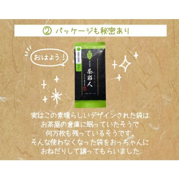 お茶 茶葉 日本茶 深むし茶 100g x10袋セット 送料無料 お茶の王国 静岡から 苦みの中に甘み お茶 日本茶 雑穀米本舗|katochanhonpo|05