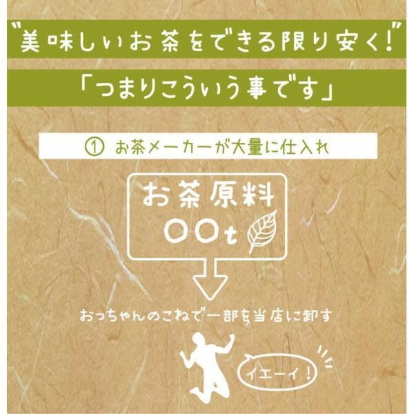 お茶 茶葉 日本茶 深むし茶 100g x3袋セット 送料無料 お茶の王国 静岡から 苦みの中に甘み お茶 日本茶 雑穀米本舗|katochanhonpo|04