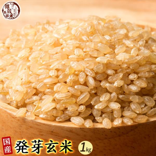 雑穀 雑穀米 国産 発芽玄米 1kg(500g×2袋) 送料無料 ダイエット食品 置き換えダイエット 雑穀米本舗
