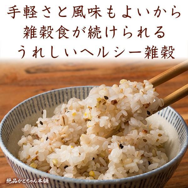 米 雑穀 雑穀米 国産 健康重視ヘルシーブレンド(豆抜) 100g 送料無料 雑穀米本舗|katochanhonpo|05