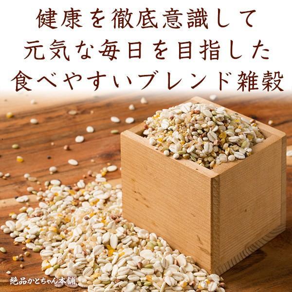 米 雑穀 雑穀米 国産 健康重視ヘルシーブレンド(豆抜) 3kg(500g x6袋) 送料無料 雑穀米本舗|katochanhonpo|02
