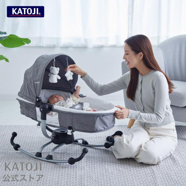 バウンサー   バウンサー ターン360[ グレー ] [ 0〜3歳頃 ] [ 新生児 ] KATOJI ( カトージ )