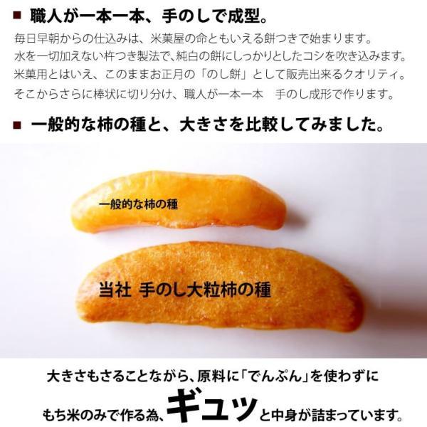 柿の種 柿ピー カシューナッツ 入り 手のし 大粒 国産米 あられ おかき おせんべい 新潟 加藤製菓|katoseika|04