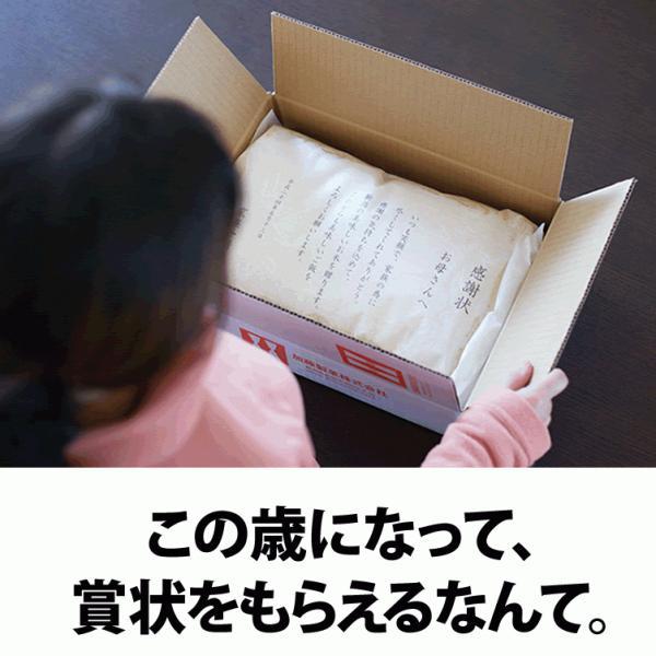 名入れ 感謝状 新潟産 コシヒカリ 5kg 30年産 産地直送 特産品 名物商品 加藤製菓|katoseika|04