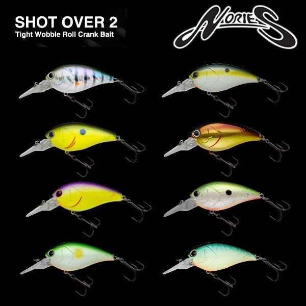 Nories Shot Over 4 Hard Lures