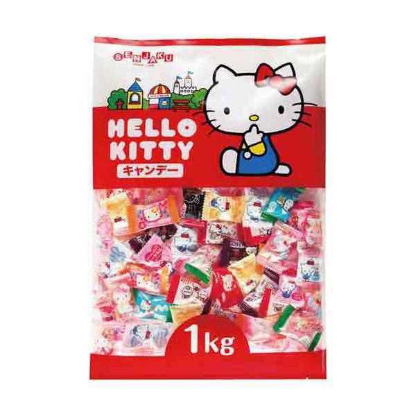 扇雀飴本舗 ハローキティキャンディ 1kg入×3