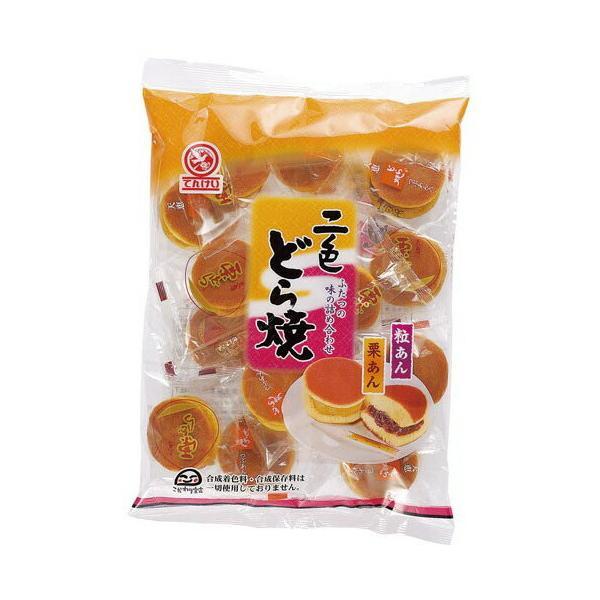 天恵製菓 二色どら焼265g×3