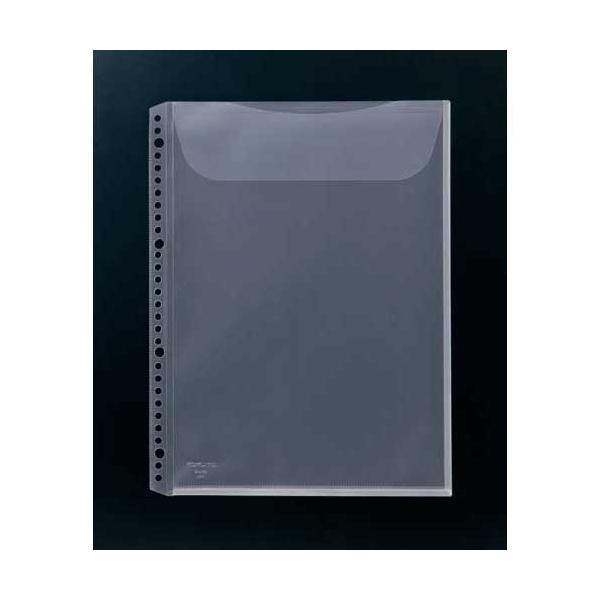コクヨ クリヤーブック替紙封筒型(マチ付き)A4縦10枚