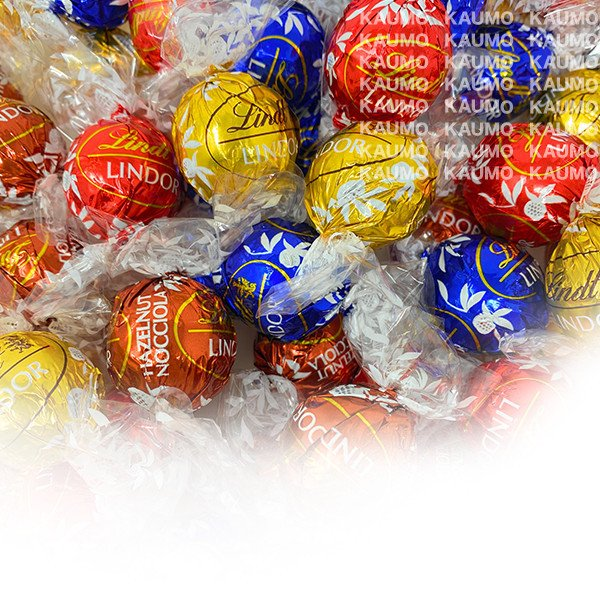 リンツ チョコ チョコレート リンドール 4種類 48個 600g アソート コストコ LINDT LINDOR TRUFFLES 4FL COSTCO ポスト投函 送料無料 お試し|kaumo-kaukau
