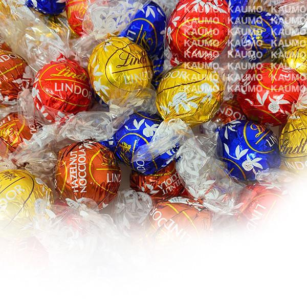 リンツリンドール24個&彩果の宝石15種類15個チョコチョコレートゼリーフルーツゼリー個包装スイーツお菓子(食品A24-