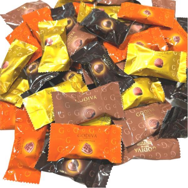 ゴディバ チョコレート 3種類 6粒(プラリネ/ガナッシュ/キャラメル)コストコ 送料無料 ポスト投函|kaumo-kaukau