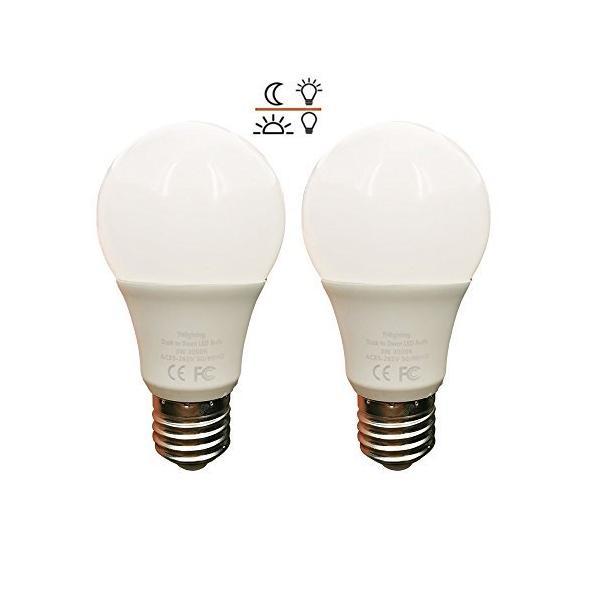 LED電球 常夜灯 あかりセンサー付 電球色 暗くなると自動で点灯 明るくなると自動で消灯 450lm 口金E26 省エネ 長寿命(常夜灯5|kavutens