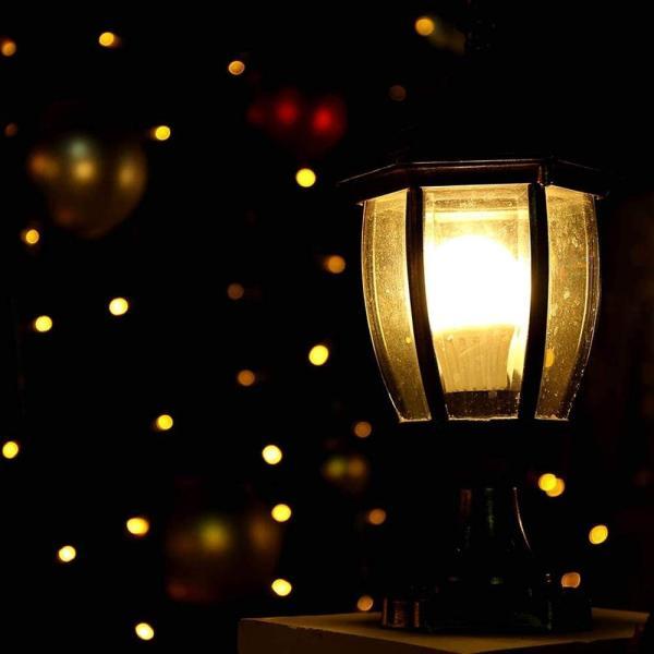 LED電球 常夜灯 あかりセンサー付 電球色 暗くなると自動で点灯 明るくなると自動で消灯 450lm 口金E26 省エネ 長寿命(常夜灯5|kavutens|02