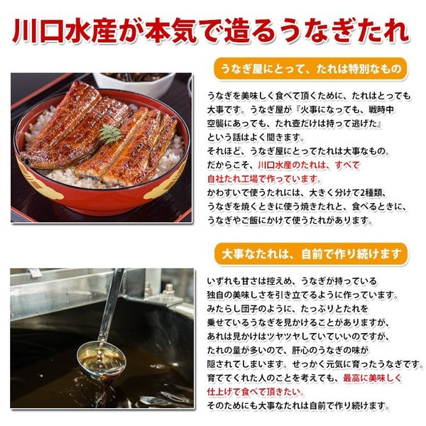 うなぎ屋が本気で作った蒲焼きのタレ 無添加あっさりタイプ 110g×1本(鰻 たれ ミニボトル NO3)|kawaguchisuisan|03