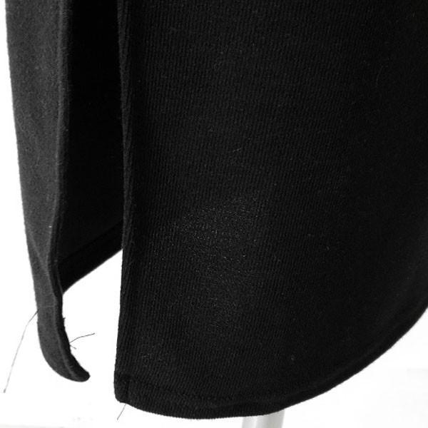 ワンピース レディース 長袖 Vネック カシュクール ドルマンスリーブ Vネック 膝丈 ひざ丈 スリット タイト スリム リボン 春 秋 韓国 メール便可 to21737|kawaicat|14