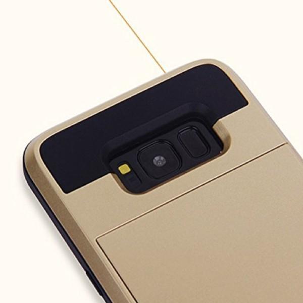 ギャラクシーS8 Galaxy S8 SC-02J SCV36 専用 スライド式カード収納付き スマホケース カバー kawaiisumaho 07