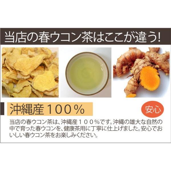 春ウコン茶 60g お試し送料無料 国産 kawamotoya 02