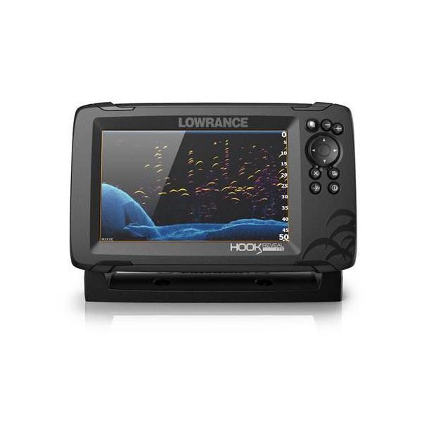 在庫有り・Lowrance ロランス 日本語版 正規輸入品 GPS魚探 HOOK REVEAL 5インチ ローランス|kawanakanko