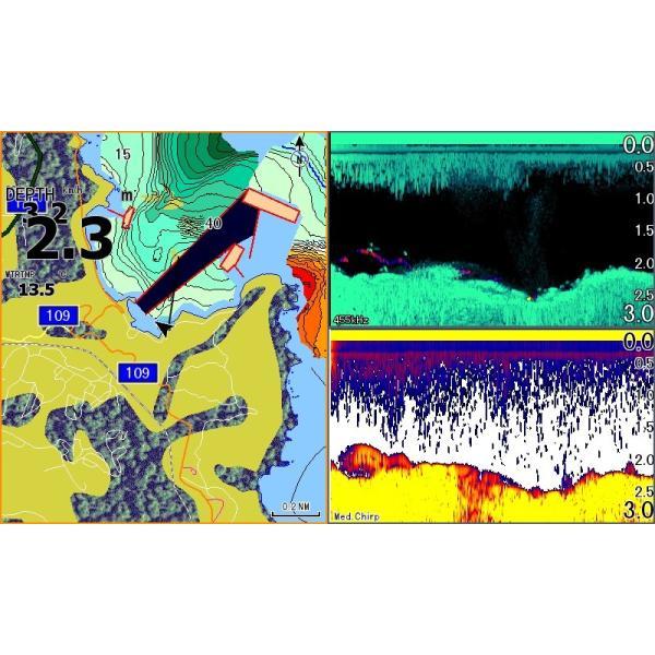 在庫有り・Lowrance ロランス 日本語版 正規輸入品 GPS魚探 HOOK REVEAL 5インチ ローランス|kawanakanko|03