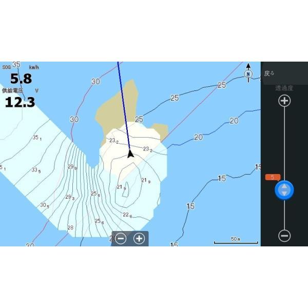 在庫有り・Lowrance ロランス 日本語版 正規輸入品 GPS魚探 HOOK REVEAL 5インチ ローランス|kawanakanko|06