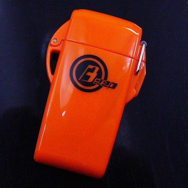 ウインドミル BEEP9 防水機能 ターボライター オレンジ/送料無料