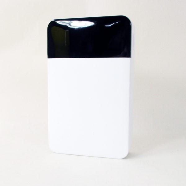 モバイルバッテリー 10000mAH USB出力5V 2.1A  PSEマーク有 GH-BTF100-WH 白 グリーンハウス/1203/送料無料メール便|kawanetjigyoubu|02