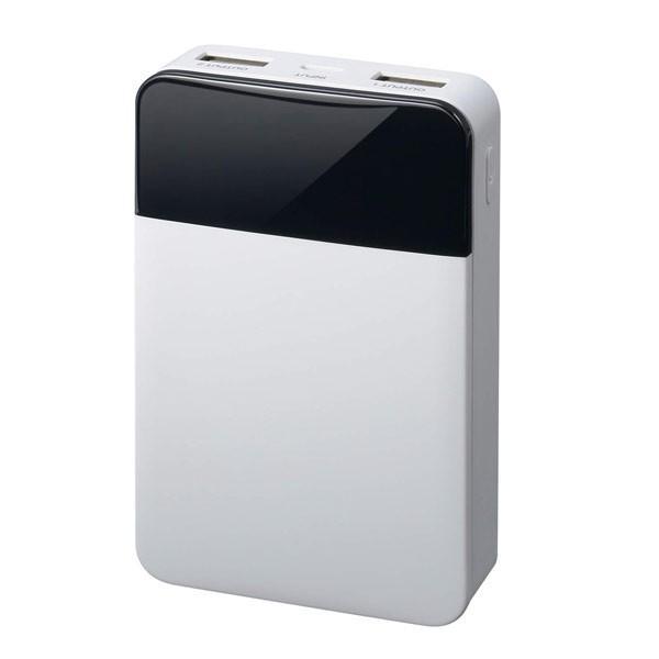 モバイルバッテリー 10000mAH USB出力5V 2.1A  PSEマーク有 GH-BTF100-WH 白 グリーンハウス/1203/送料無料メール便|kawanetjigyoubu|04