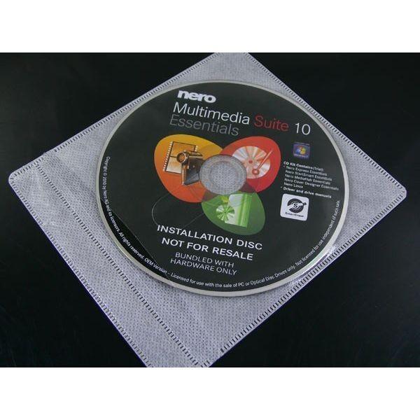 CD/DVD/BD 不織布ケース 両面タイプ 100枚 袋入りx1個 AB100PW 4984279300022/送料無料メール便 ポイント消化|kawanetjigyoubu|03