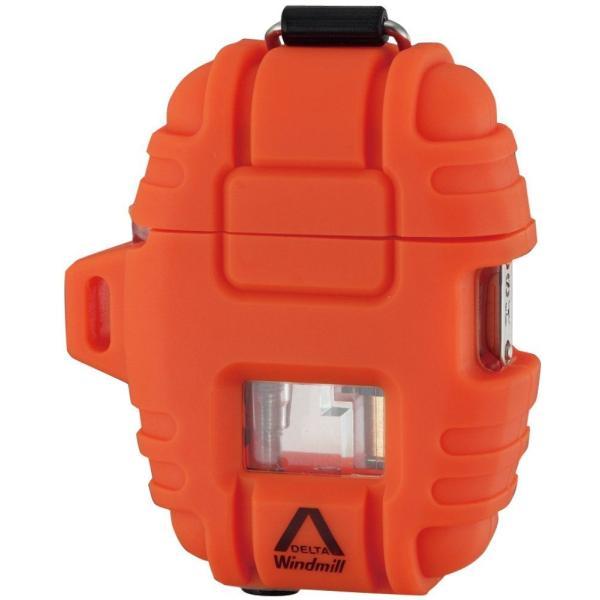 ウインドミル /デルタ Delta/ターボライター ブレイズオレンジ 390-0008/送料無料