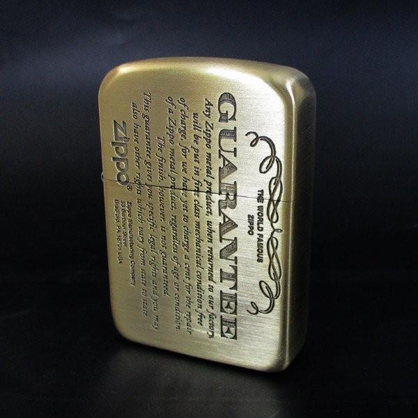 ジッポー ライター 1941復刻版 #1941ギャランティ柄 真鍮古美 41GRT-BS/送料無料メール便