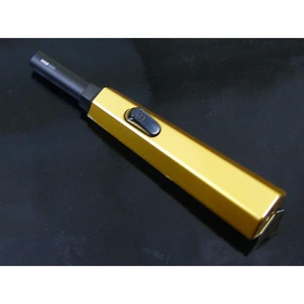 ライテック 2年保証 注入式 点火棒ターボライター 優火ジェット 金