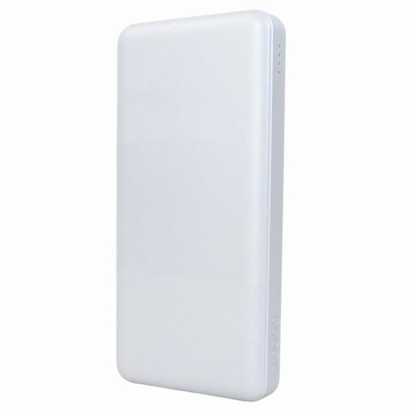 モバイルバッテリー 10000mAH TypeC対応  USB出力5V 2.4A シルバー HD-MBC10000SV PSEマーク有 HIDISC 1392/送料無料メール便|kawanetjigyoubu|02