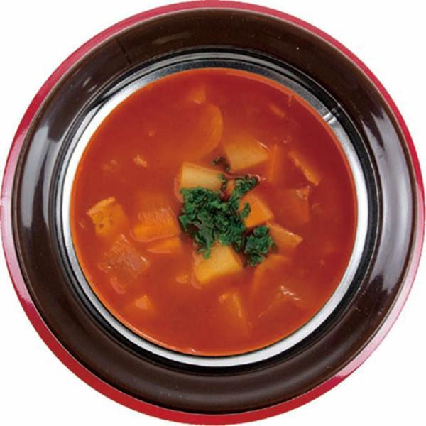 スープマグ ステンレス スープジャー 真空二重構造 内面セラミックコーティング モグモグ スープ&シチュー  400ml MM-402 レッド 2887/送料無料|kawanetjigyoubu|05