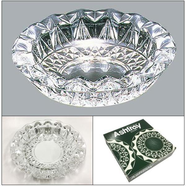 卓上灰皿 日本製 ガラス製/グローリー 東洋佐々木ガラス P-05516-JANx1個/送料無料