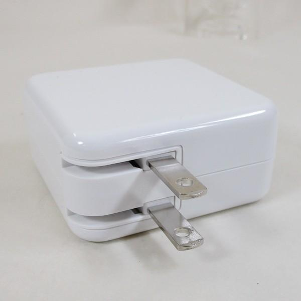 AC充電器/4ポートタイプC USB充電器 PD対応 自動識別IC付 急速充電 最大3.4A ML-PDUS3P36W/HIDISC 1187|kawanetjigyoubu|04