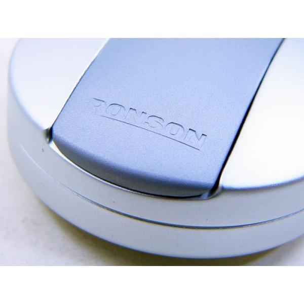ロンソン/ronson/ 携帯灰皿 RA2 シルバー|kawanetjigyoubu|03