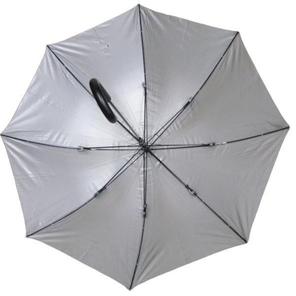 日傘 晴雨兼用傘 男女お使いいただける ジャンプ傘 グラスファイバー ブラック#672x1本/送料無料|kawanetjigyoubu|06